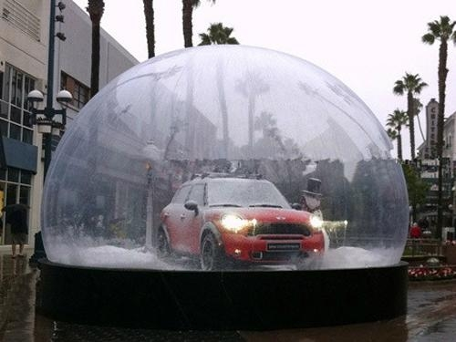 Christmas Decoratio Inflatable Snow Globe Use in Exhibition for Advertisement