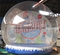 life size snow globe clear inflatable dome for taking photos
