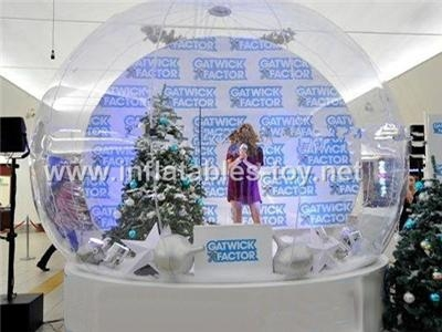 Christmas snow globe for Christmas decoration,Christmas party and  event deco