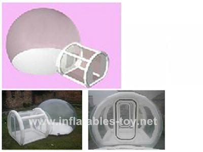 Transparent outdoor camping dome tent