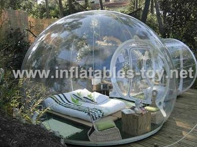 outdoor activities transparent PVC dome tent