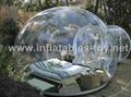Double layer airtight dome tent