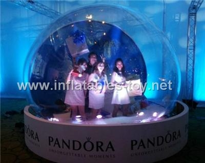 inflatable bubble tent for person show