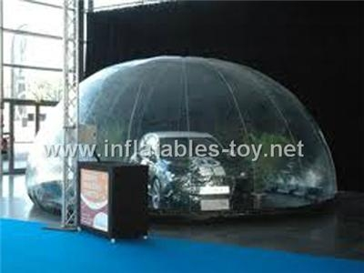 Car Cover Snow Globe Inflatable