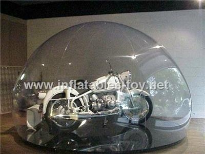 Bubble Tent Show Case for Auto Display