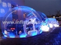 Lighting Snow Globe for Car Exhibition