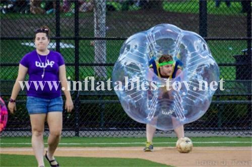 football bubble ball