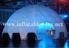 Inflatable Lighting Wedding Dome Tent,Inflatable Event Party Decoration Tent
