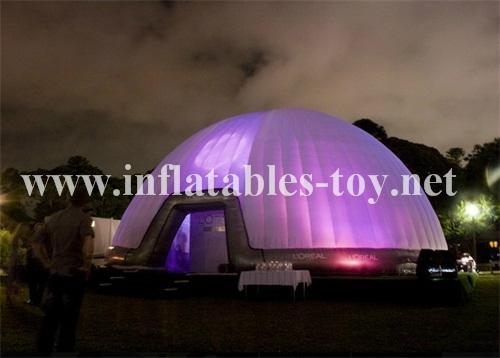 Inflatable Illuminated Bar Event Party Dome Tent 8