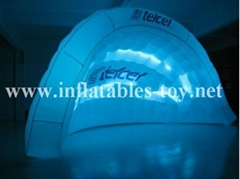 Inflatable Illuminated Bar Event Party Dome Tent
