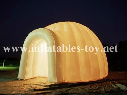 Inflatable Illuminated Bar Event Party Dome Tent 5