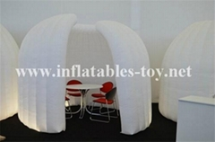 Inflatable Office Tent , Trade Show Booth OIAB Dome Tent
