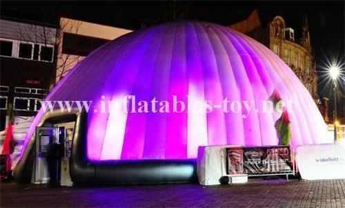 Inflatable Lighting Tent, Lighting Decoration Tent, Inflatable Dome Tent 8