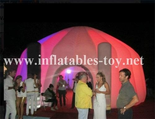 Inflatable Lighting Tent, Lighting Decoration Tent, Inflatable Dome Tent 6