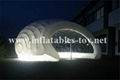 Inflatable Luna White Dome Tent for Exhibition 2
