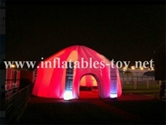 White Wedding Decoration Tent , Inflatable Wedding Tent