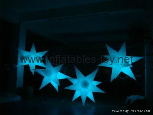 Inflatable Star Decorations