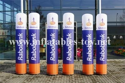 Outdoor Inflatable Advertising Columns,LED Lighting Tubes Decorations 4