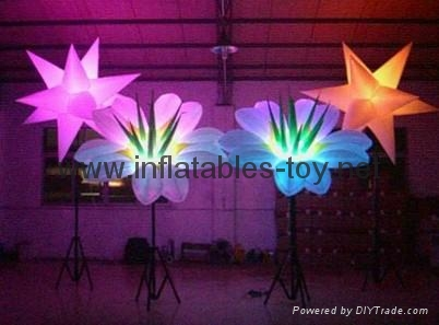 Party Inflatable Flower Decoration,LED Lighting Flower for Wedding Event 4