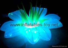 Party Inflatable Flower Decoration, LED Lighting Flower for Wedding Event