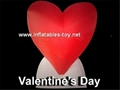 Lighting Inflatable Heart Decorations