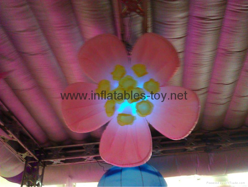 Popular Event Decorations,Party,Club,Bar,Wedding use Infltable Decor Sun Flower