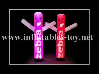 Decoration Inflatable Tube,Lighting Cone Decoration,Inflatable Advertising Ball