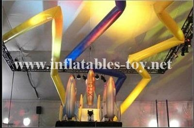 Inflatable Cone,Stage Lighting Decorations,LED Lighting Show