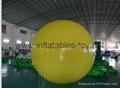 Yellow PVC Helium Balloon
