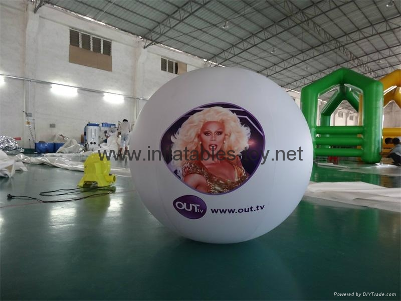 nflatable Helium Balloon with Digital Printing for outdoor Advertising