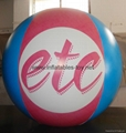 Inflatable Sphere with Digital Printing for Advertising