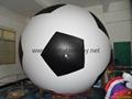 PVC Football Helium Balloon Inflatables