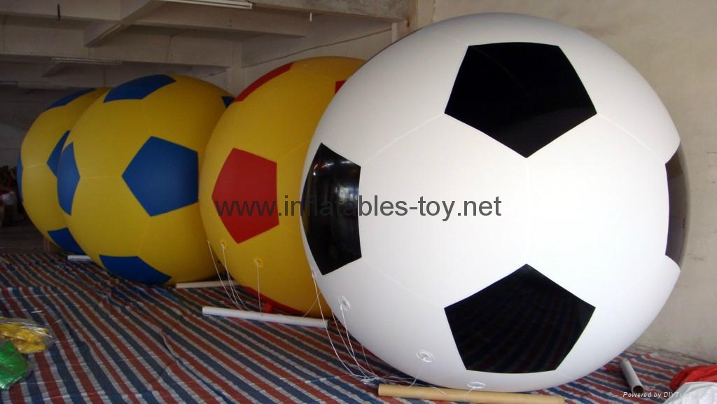 Colorfull Football Helium Ball for sale