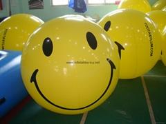 PVC Advertising Smile Helium Balloons