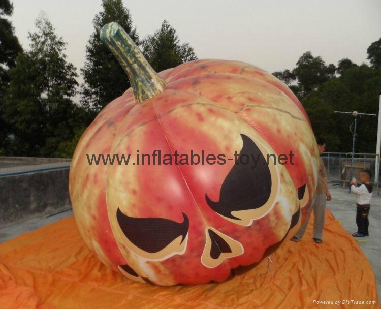 Inflatable Pumpkin for Halloween Decorations