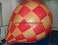 Inflatable Sphere with Helium for Flying