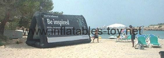 Mobile Advertising Inflatable BillBoard for Sale,Airtight Water Billboard