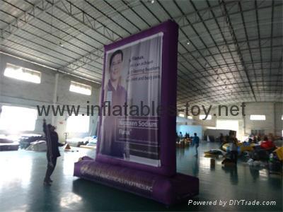 Outdoor Advertising Billboard, Inflatable Promotional Billboard  8