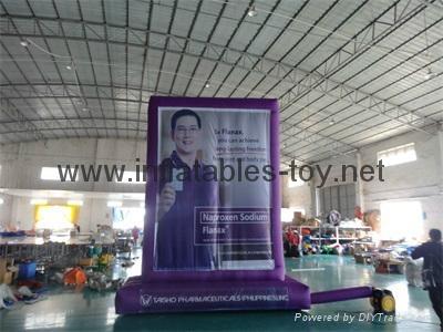 Outdoor Advertising Billboard, Inflatable Promotional Billboard  9