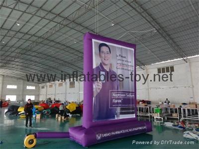 Outdoor Advertising Billboard, Inflatable Promotional Billboard  10