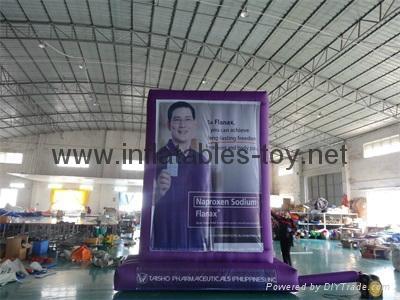 Outdoor Advertising Billboard, Inflatable Promotional Billboard  12