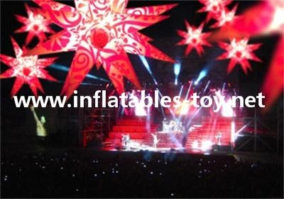 Disco Inflatable Decorations, Lighting Event Inflatable Decorations