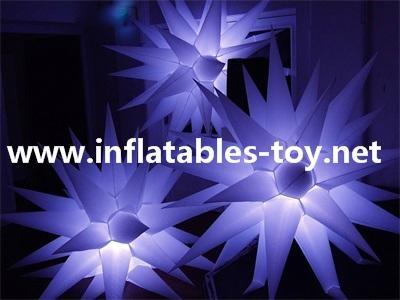Light Up Inflatable Stars Lighting Decorations