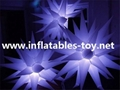 Light Up Inflatable Stars Lighting Decorations