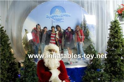 Christmas Decoration Snow Globe for Taking Photos 10