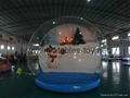 Inflatable Show Ball, Christmas Snow