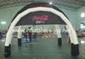 Coca-Cola Advertising Tent for trade show