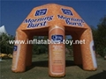 Customized Inflatable Spider Tent with Full Digital Graphics