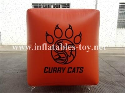 Cube Shape Safety Buoys Inflatable, Water Buoy Marker 8