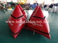 Cube Shape Safety Buoys Inflatable, Water Buoy Marker 14